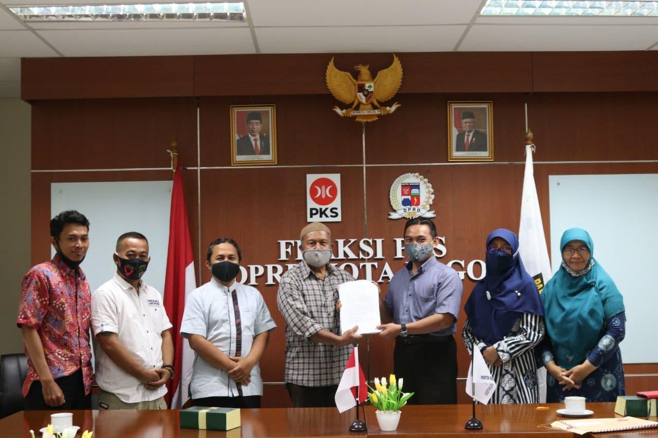 Warga Pasirkuda Keluhkan Sengketa Lahan Ke Fraksi PKS