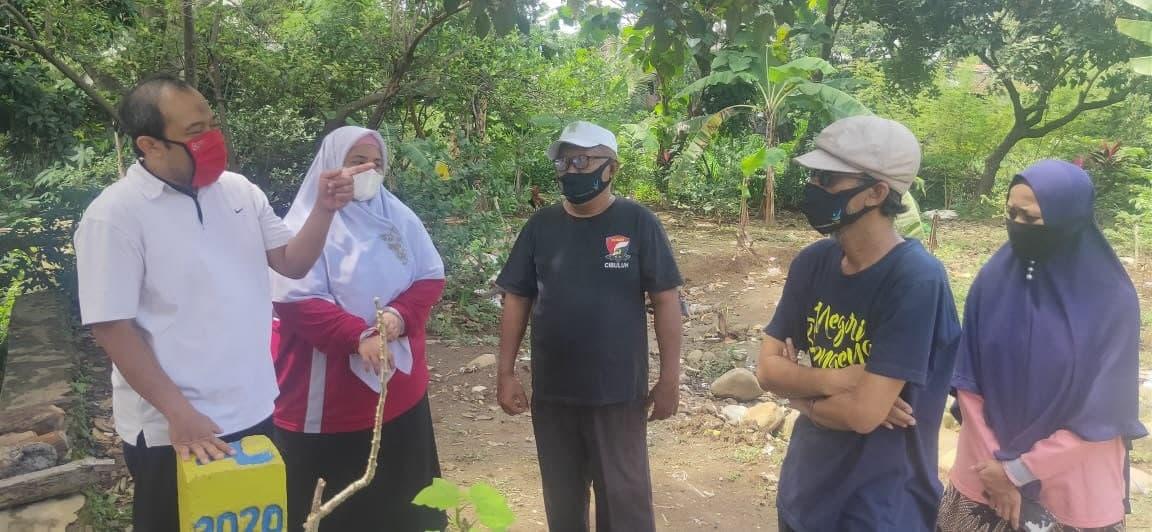 Endah Advokasi Warga Cibuluh Yang Tanahnya Dipasang Patok Kementerian PUPR