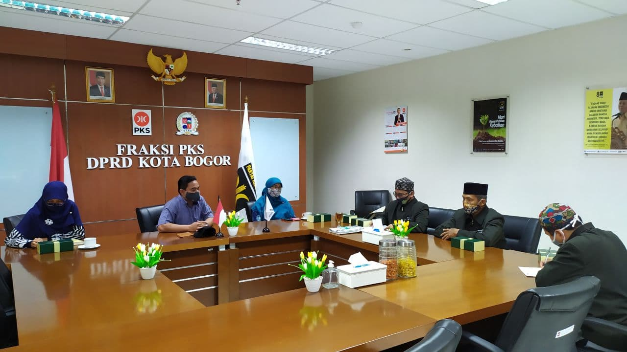 Fraksi PKS Terima Advokasi Guru Mardarash Diniyah (MD) Kecamatan Tanah Sareal
