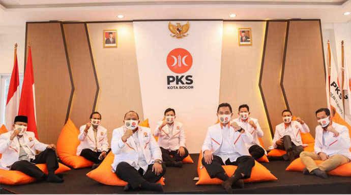DPTD PKS Kota Bogor 2020-2025 Resmi Ditetapkan, Berikut Susunan Pengurusnya